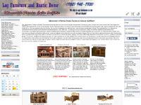 Rustic Cabin Furniture ~ Log Furniture ~ Cabin Decor - Rustic Log Furniture for Log Homes, Log Cabins and Lodges
