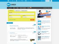 Jobs, Employment & Careers @ MyCareer