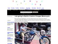Blogging and Building My Custom Chopper Motorcycle