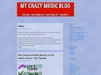 mycrazymusicblog.com