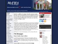 FHA Home Loan Mortgages, FHA Refinance, and FHA Guidelines