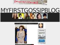 My First Gossip Blog