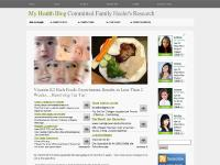 My Family Health Blog