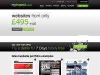 myImpact | Websites with huge capabilities