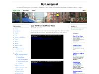 mylamppost.com My Lamppost, front page, archives