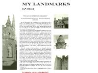 Welcome to My Landmarks, an Unofficial Review of the Landmark Trust Properties we have Visited