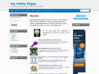 My Maths Pages