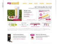 mymuesli.com Müsli, Muesli, Bio-Muesli