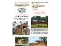 HUD Cabins, Park Model RV, Request A Quote, Go Green