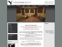 myplatinumsound.com jacksonville recording studio, jacksonville florida recording studio, audio recording