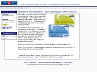 myprepaidcard.ca Forgot Your Login?, Need a Login?, English