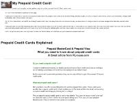 Prepaid credit cards as gifts and presents, and how they have helped me.
