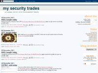 My Security Trades