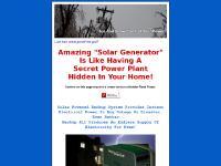 mysolarbackup.com Solar Generator, Solar Power Generator, Solar Panel Kits