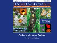 Sol-Air Solar Garden Lights, Stakes, Globes, Wind Chimes & Lawn Ornaments from MySolarGarden.net