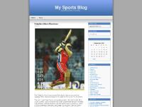 My Sports Blog