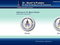 mystmarys - St. Mary of the Immaculate Conception - Aurora, Indiana