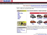 Suzuki Parts, Merchandise, Suzuki Parts and Accessories, XL-7