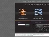 Tacoma Public Utilities Home