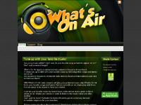 myttuner.com what\'s on air, what\'s on air home page, what\'s on air homepage