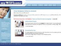 myWIFIzone Free WiFi HotSpot Software