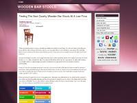 mywoodenbarstools.com Wooden Bar Stools