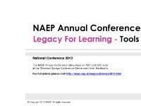 naep-conference.org.uk NAEP CONFERENCE , NAEP, NAEP 2012