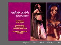:: Najlah Zahle - Bailarina e Professora de Dança do Ventre ::