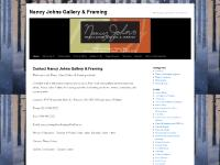 Nancy Johns Gallery & Framing | World class art from your own backyard!