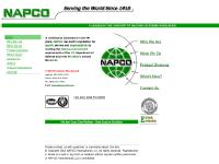 Napco International A Leader in the Support of Military Systems Worldwide