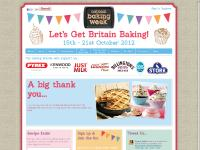 National Baking Week - 15th ~ 21st October 2012