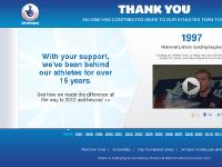The National Lottery London 2012 Timeline