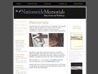 nationwidememorials.co.uk headstones, memorials, memorials in kent