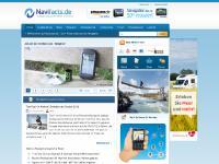 navifacts.de Navifacts, Impressum, Sprachauswahl
