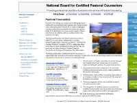 National Board for Certified Pastoral Counselors