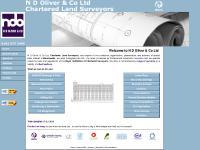 N D Oliver - Chartered Land Surveyors & Geomaticians, Manchester UK