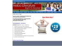 nebo-lit.com Language, Writer's Purpose, Expressive Writing
