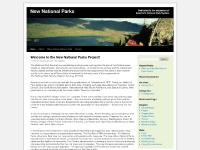 New National Parks Project | Citizens working to expand America's National Park System