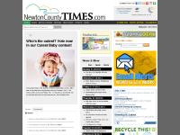 NewtonCountyTimes.com, Current Conditions, 7 Day Forecast, 62°