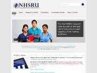 nhsru.com NHSRU, Research in Action, Publications