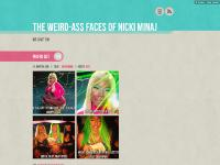 The Weird-ass Faces of Nicki Minaj