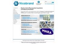 Nicotine Pharmaceutical Ingredients & Products | Nicotine Active, Polacrilex Chewing Gum & Bitartrate Dihydrate - Nicobrand