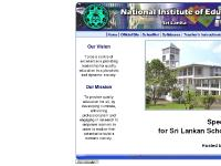 nie.sch.lk SchoolNet, Syllabuses, Teacher's Instructional Manuals