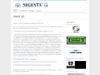 About Us - Nigesta Ltd.