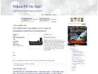 Nikon F6 On Sale!
