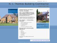 nlthomasbuilderstaunton.co.uk fully insured builders, house builders, new builds