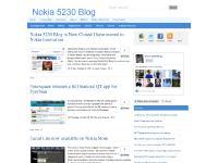 Nokia 5230 Blog