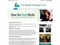norfolkdiabetestrust.co.uk Norfolk Diabetes Trust, Elsie Bertram MBE, Norfolk's diabetes patients
