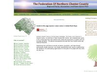 northernfederation.com federation northern chester county, pa regional parks, open space plan