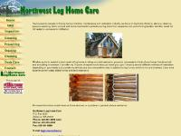 Northwest Log Home Care and Maintenance. Log Home Restoration.